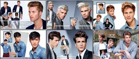 Album de coiffure homme -Album coiffure - materielcoiffure-pro.com