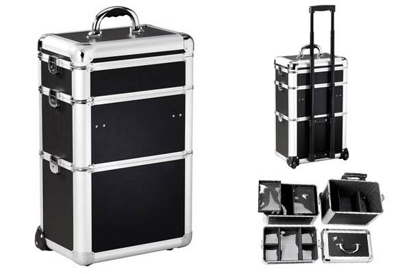 valise de coiffure aluminium. Black Bedroom Furniture Sets. Home Design Ideas