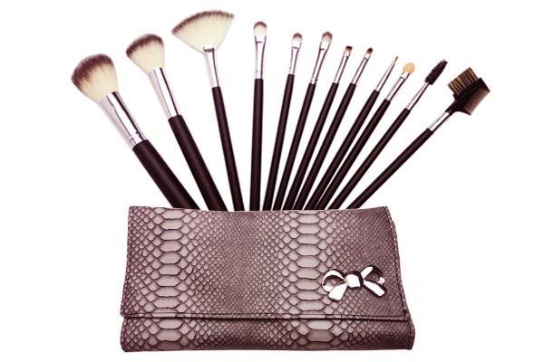 Pinceaux de maquillage professionnel 12pcs - Palette de pinceaux maquillage pas cher ...