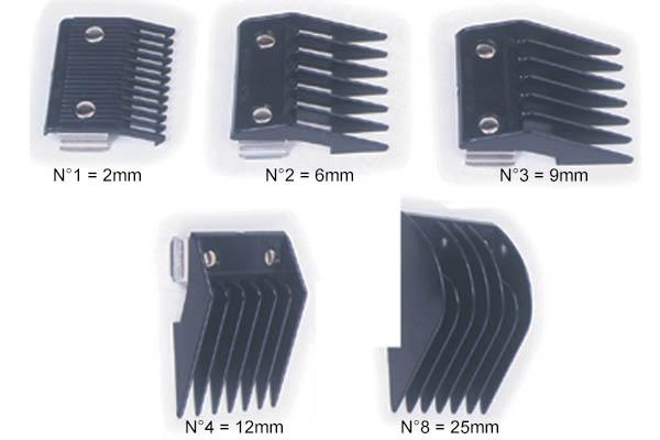 sabots tondeuse coiffure accessoires de tondeuse. Black Bedroom Furniture Sets. Home Design Ideas
