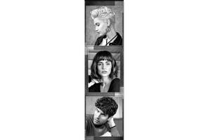 - Bannière coiffure masculin feminin