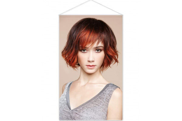 kak mono de coiffure femme poster pour salons de coiffure poster coiffure materielcoiffure. Black Bedroom Furniture Sets. Home Design Ideas