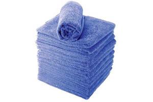Lot de serviettes marine
