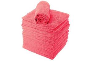 Lot de serviettes rouge