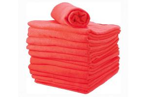 - Lot de serviettes éponge fuschia