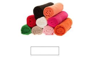 Lot de grandes serviettes éponge blanc