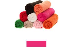 Lot de grandes serviettes éponge fuschia