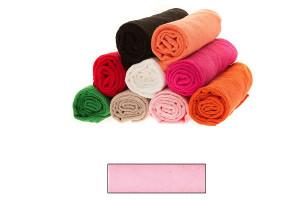 Lot de grandes serviettes éponge rose