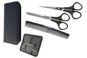 - Pack ciseaux rasoir peigne académique t6.0