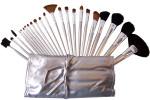 - Pinceaux de maquillage professionnel 24pcs