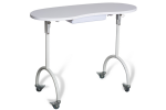 Table manucure professionnelle pliable
