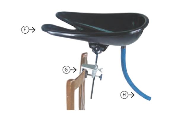 Lave Tete Complet Pour Coiffure A Domicile Materielcoiffure Pro Com