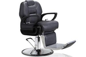 fauteuil de coiffure mobilier pour barbier mat riel barbier fauteuil barbier buffalo noir. Black Bedroom Furniture Sets. Home Design Ideas