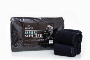 Lot de serviettes éponge noir pour kit chauffe serviettes