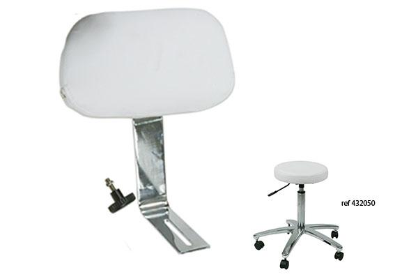 dossier tabouret de coupe dossier pour tabouret roma materielcoiffure. Black Bedroom Furniture Sets. Home Design Ideas