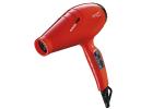 Sèche-cheveux ionique Luminoso rouge