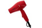 Mini sèche-cheveux de voyage Coiffeo rouge