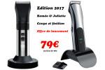 Offre de lancement 79€ : Lot tondeuses R.& J. édition 2017