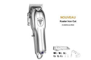 - Tondeuse de coupe Kuster Iron Cut (2 coloris)